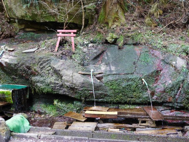 筑波山の湧き水
