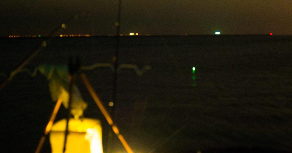 富津漁港で夜釣り~明け方のサビキ釣り