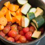 ミニトマトで作る水なしトマトカレー