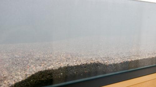 富士砂の初期濁り