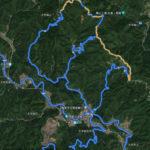 林道ツーリングのルートをGoogleMapで作ってみた話